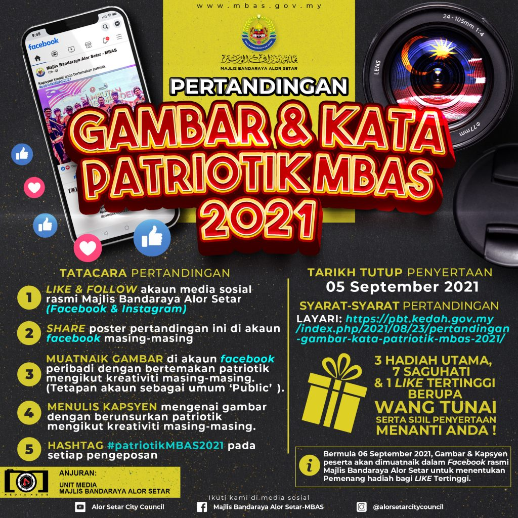 Pertandingan Gambar & Kata Patriotik MBAS 2021