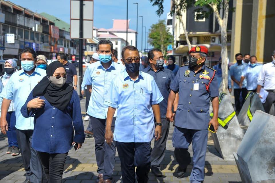 Lawatan Kerja Timbalan Menteri KPKT, YB Dato' Sri Dr. Haji Ismail Haji Abd. Muttalib ke Alor Setar.
